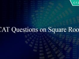 CAT Questions on Square Roots
