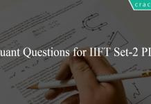 Quant Questions for IIFT Set-2 PDF