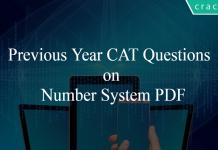 Previous Year CAT Questions on Number System PDF