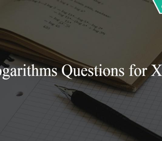 Logarithms Questions for XAT