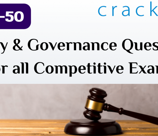 TOP-50 Polity and Governance Questions