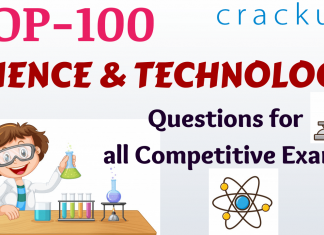 TOP-100 Science and Technology Questions for all Competitive Exams