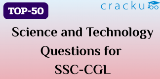TOP-50 Science and Technology Questions || SSC-CGL