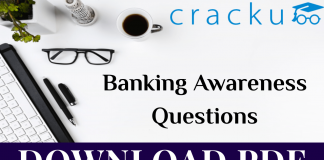 Banking Awareness Questions