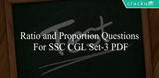 ratio and proportion questions for ssc cgl set-3 pdf