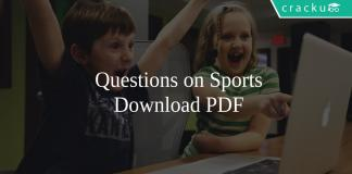 Questions on Sports