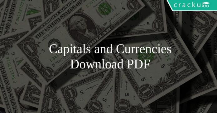 Capitals and Currencies