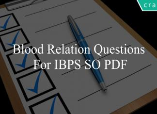 blood relation questions for ibps so pdf