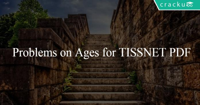 Problems on Ages for TISSNET PDF