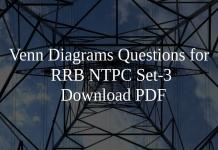 Venn Diagrams Questions for RRB NTPC Set-3 PDF
