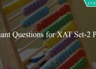 Quant Questions for XAT Set-2 PDF