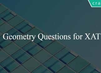 Geometry Questions for XAT