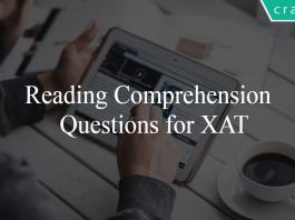 Reading Comprehension Questions for XAT