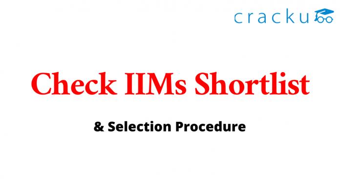 IIM Shortlist 2020