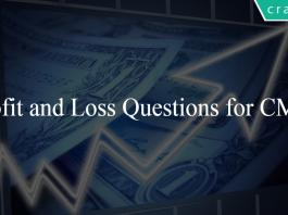 Profit and Loss Questions for CMAT
