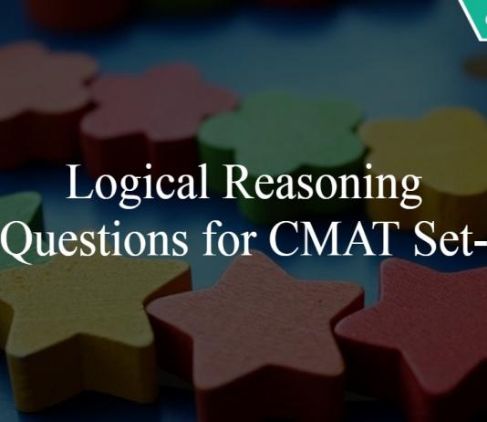 Logical Reasoning Questions for CMAT Set-2