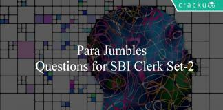 Para Jumbles Questions for SBI Clerk Set-2