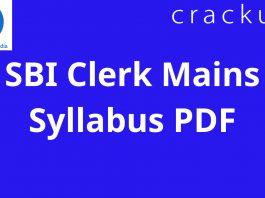SBI Clerk Mains Syllabus PDF (1)