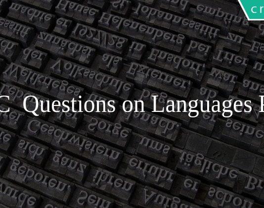 SSC Questions on Languages PDF
