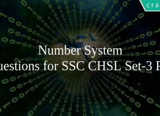 Number System Questions for SSC CHSL Set-3 PDF
