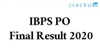 IBPS PO Final Result