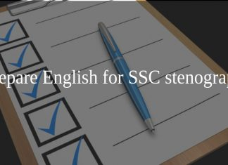 How to Prepare English for SSC stenographer Exam