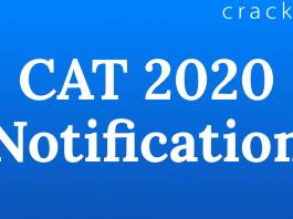 CAT 2020 Notification