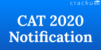 CAT 2020 Notification