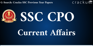 SSC CPO Current Affairs Question