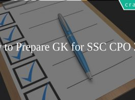 How to Prepare GK for SSC CPO 2020