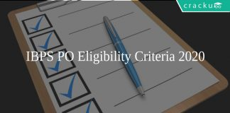IBPS PO Eligibility Criteria 2020