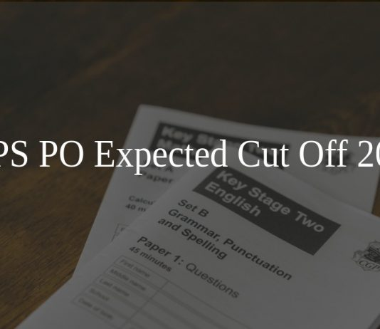 IBPS PO Expected Cut Off 2020