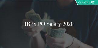 IBPS PO Salary 2020
