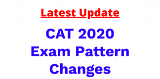 CAT 2020 Exam Pattern Change