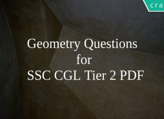 Geometry Questions for SSC CGL Tier 2 PDF