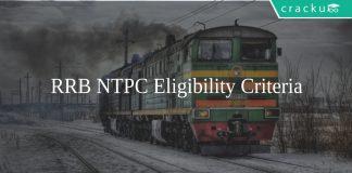 RRB NTPC Eligibility Criteria