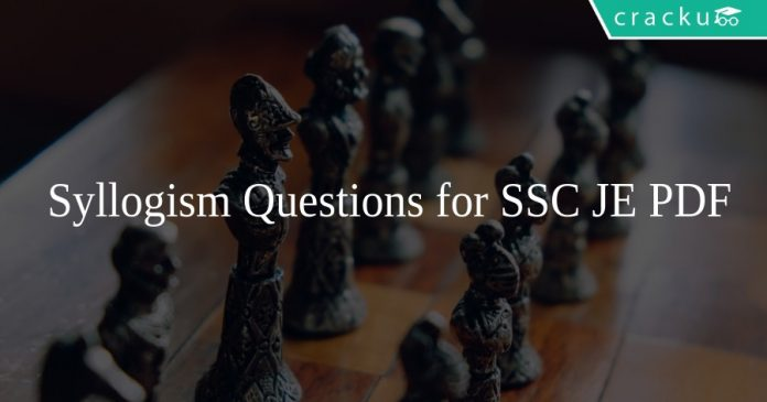 Syllogism Questions for SSC JE PDF