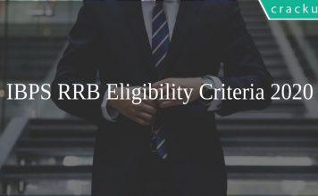 IBPS RRB Eligibility Criteria 2020