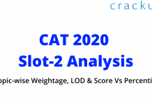 CAT 2020 slot-2 analysis