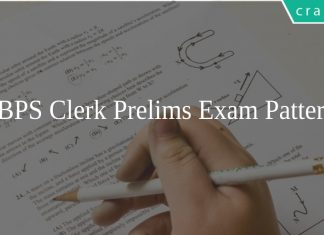 IBPS Clerk Prelims Exam Pattern