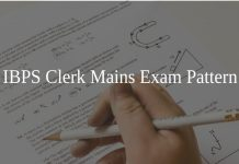 IBPS Clerk Mains Exam Pattern