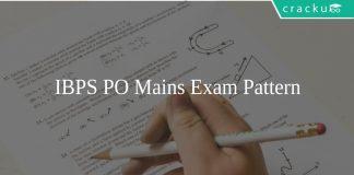 IBPS PO Mains Exam Pattern