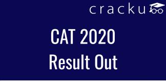 cat 2020 result declared
