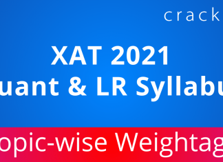 XAT 2021 Quant & LR Syllabus