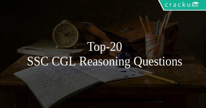 Top-20 SSC CGL Reasoning Questions