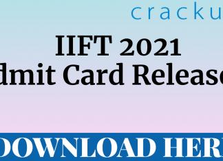 IIFT 2021 Admit Card Download