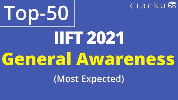 IIFT GK Questions PDF