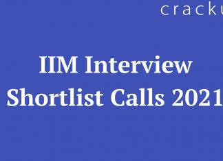 IIM Interview Shortlist Calls 2021