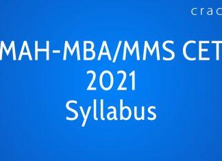 MAH-MBA CET 2021 Syllabus