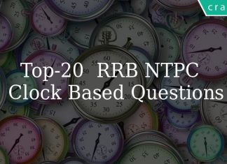 Top 20 RRB NTPC Clock Based Questions